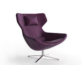 3D model Metropolitan 14 Armchair pillow