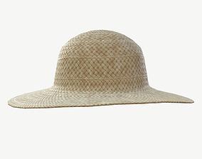 Straw Hat 3D asset