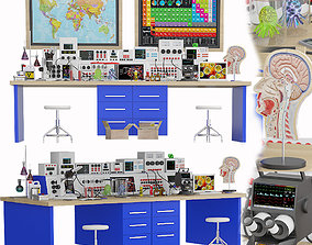 Laboratory medical set 3 3D