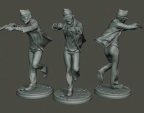 Dancing Coffin Meme B 006 3D printable model
