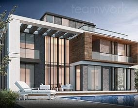 3D asset TWA Villa Design 01