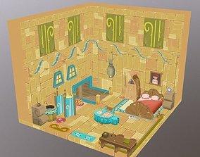 Enviroment Dofus Game 3D model