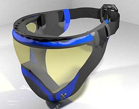 Paintball Facemask - Type 3 3D