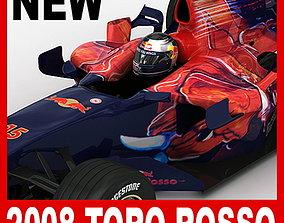 f1 F1 2008 Scuderia Toro Rosso STR3 3D model