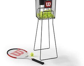 3D model Sport Ball Stand
