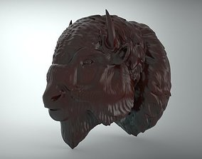 bufalo american bison 3D