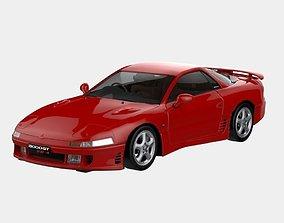 3D model 1990 Mitsubishi 3000GT