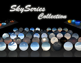 3D model Sky Series Collection - HDRi