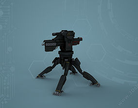 3D asset Sentry GunWY
