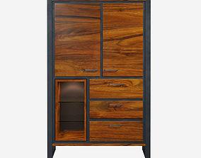 3D asset Casablanca Cabinet