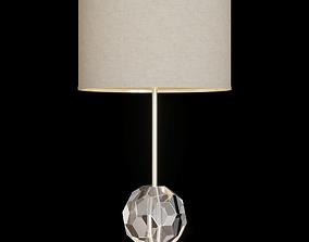 RH BOULE DE CRISTAL TABLE LAMP Nickel 3D