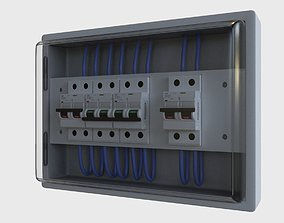 3D asset BOX FUSE - Circuit Breaker