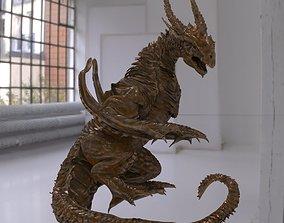 3D Dragon lizard