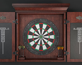 3D model Dartboard play