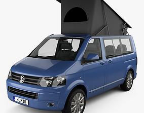 3D Volkswagen Transporter California 2011