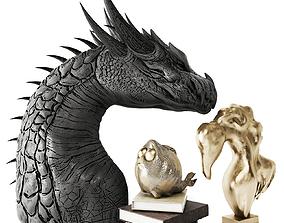 3D model Dragon sculpt