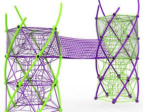 3D model Berliner DNA Tower