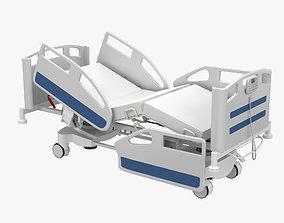 3D corona Hospital Bed