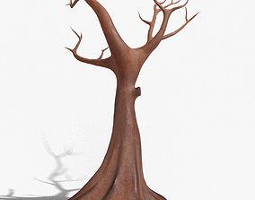 Rusty Tree Steel Sculpture 3D asset