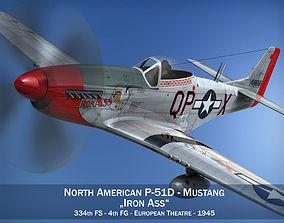 3D North American P-51D Mustang - Iron Ass