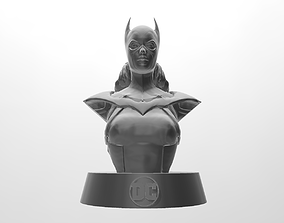 Batgirl Bust 3D print model