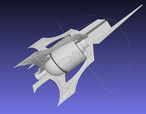 RWBY Myrtenaster Weiss Sword Guard 3D printable model