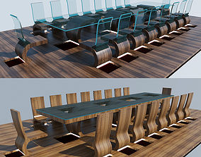 Meeting Table office-interior 3D model