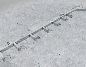 3D asset EDDF Terminal 1A