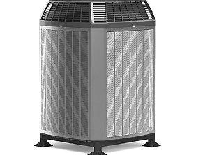 wind Heat Pump 3D Model