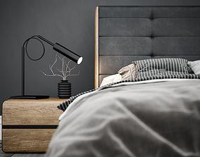 3D Vento Eiche Milieu Bed Fstorm
