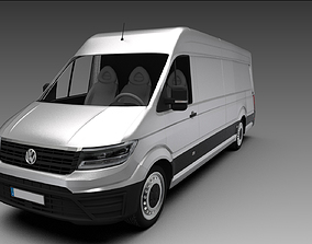 radst 3D model VW Crafter Kasten