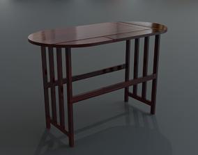 Drop Leaf Table 3D asset