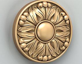 Round rosette 033 3D model