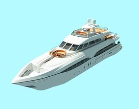 small boat 2008 watercraft 3D