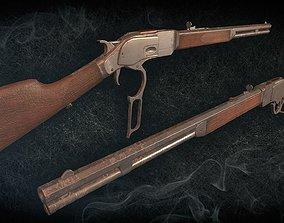 Winchester 1873 3D asset