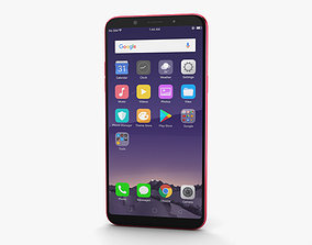 3D Oppo F5 Red