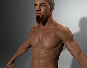 3D model Capoeira Warrior Not Rigged
