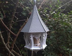 3D print model Garden House Bird Feeder