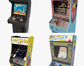 3D asset Arcade Machines