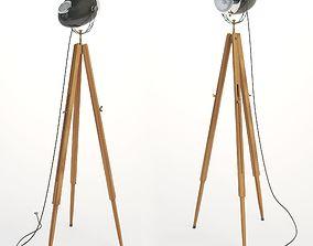 Floor lamp Motolight 3D model