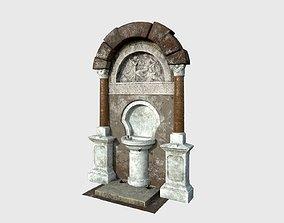 Drinking Fountain 10 3D model