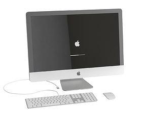 keyboard 3D Apple iMac