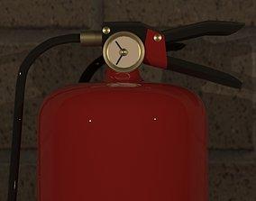 3D print model Extinguisher