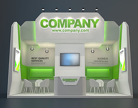 EXHIBITION STAND CLB 18 sqm 3D