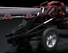 star 3D printable model Original Star Fiction cannon