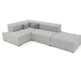 3D asset Sofa Tufty Too