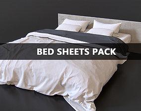 3D model Bed Sheets Pack