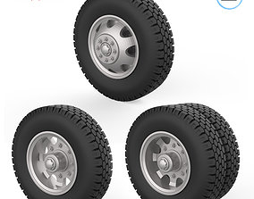 3D printable model Truck wheels 1-32 diameter