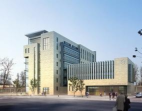 Modern Business Center 3D model