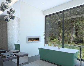 Luxury bathroom tap 3D